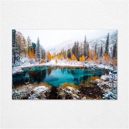Snow Serround Water