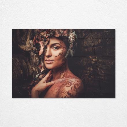 Flowered Woman 2