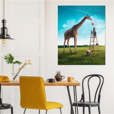 Giraffe Cotton Candy
