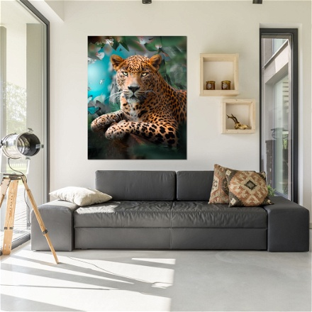 Leopard Colorfull