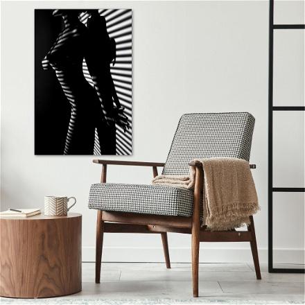 Naked Woman Stripes
